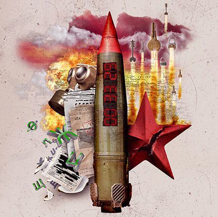 BOMB! Cold War Crisis! Disarm the nuclear bomb in 60 minutes at American Escape Rooms