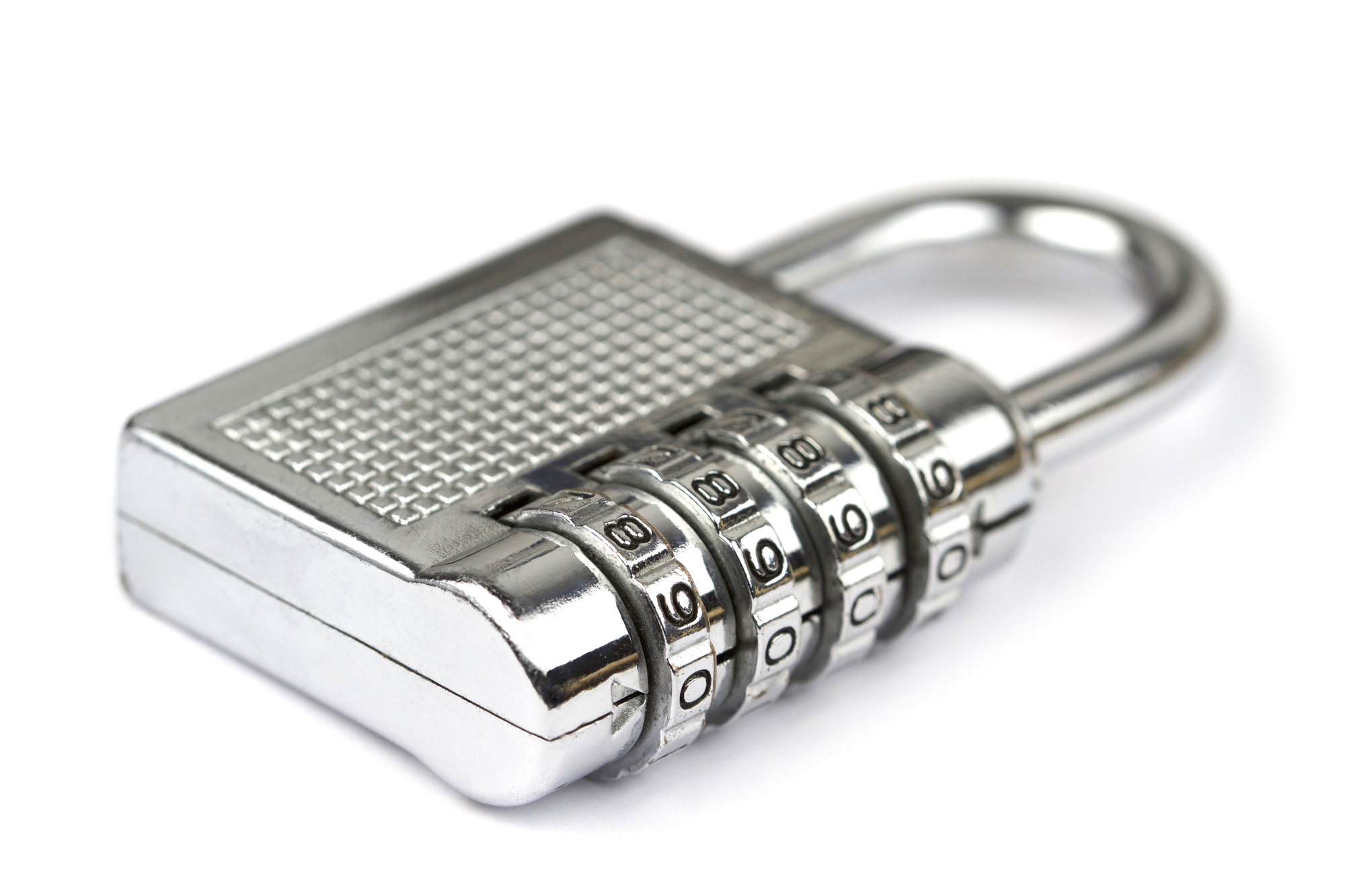 Image of the type of padlock that can be expected by the customers.