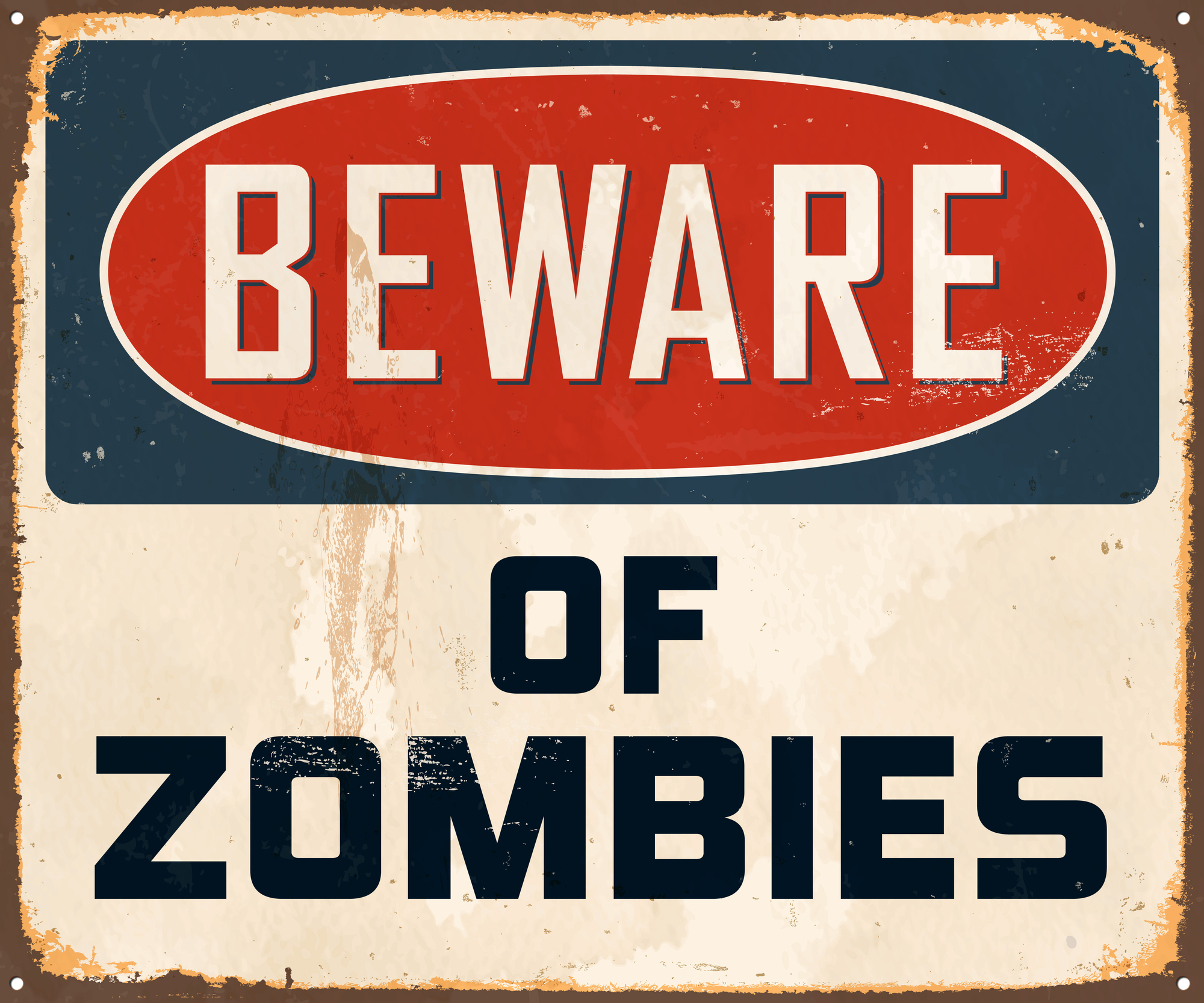 Animated Poster for Zombie Awareness