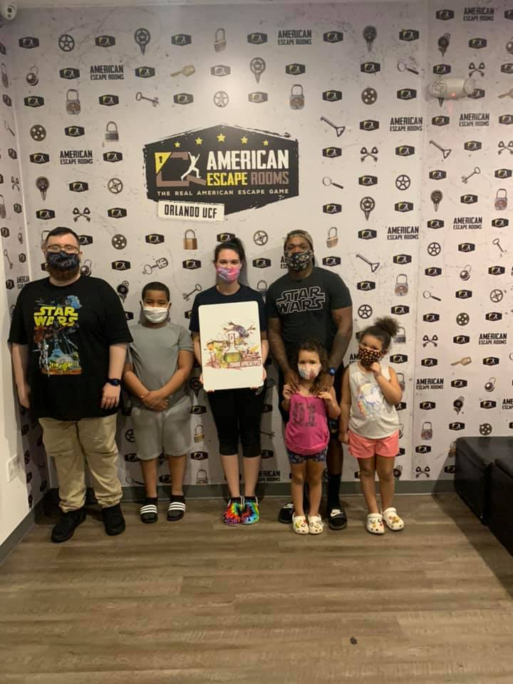 Marlen Crew played the Zombie Apocalypse - Orlando and finished the game with 5 minutes 39 seconds left. Congratulations! Well done!