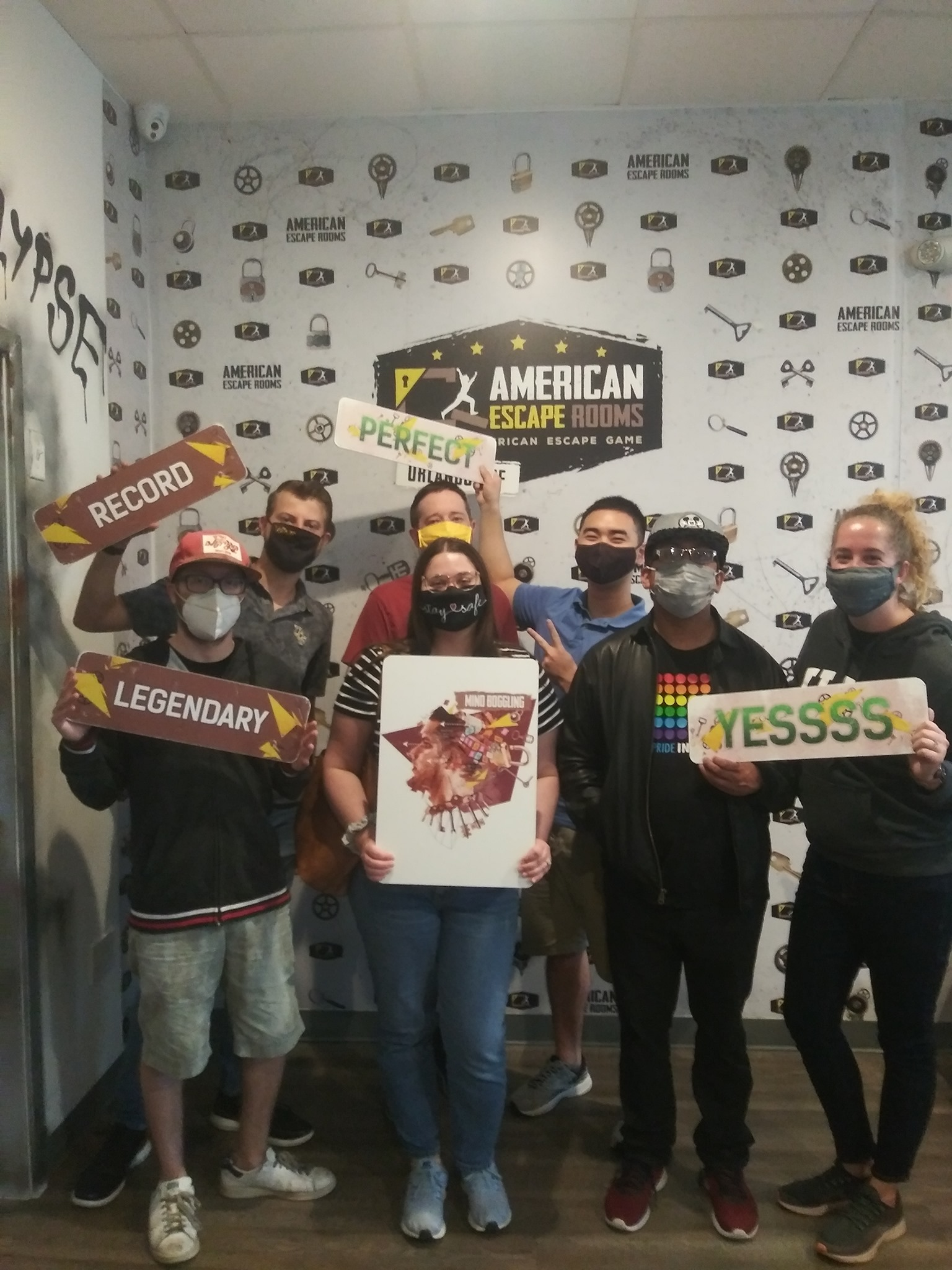 Team Mini Gang played the Mind-Boggling - Orlando and finished the game with 28 minutes 42 seconds left. Congratulations! Well done!