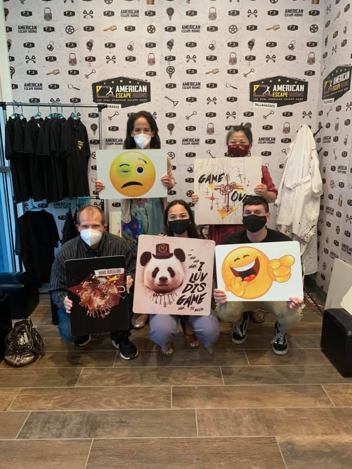 Team Fun played the Mind-Boggling - Tallahassee and finished the game with 0 minutes 0 seconds left. Congratulations! Well done!