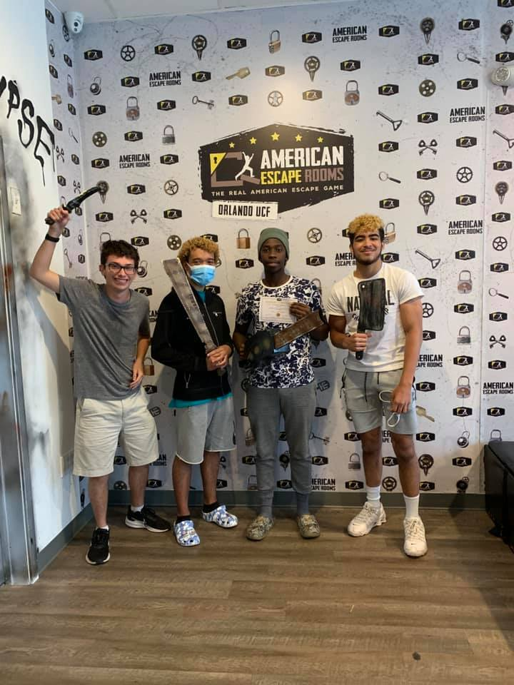 Team 512 played the Zombie Apocalypse - Orlando and finished the game with 14 minutes 16 seconds left. Congratulations! Well done!