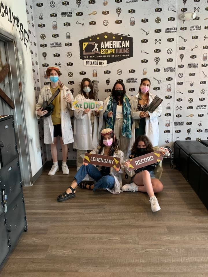 Adriana's Pals played the Mad Professor's Asylum - Orlando and finished the game with 18 minutes 51 seconds left. Congratulations! Well done!