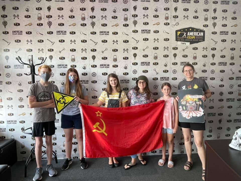 H&H Team played the Cold War Crisis - Tampa and finished the game with 3 minutes 25 seconds left. Congratulations! Well done!