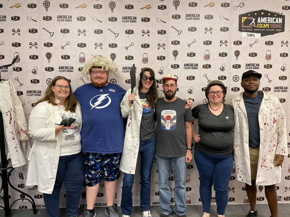 YAY!!!! played the Mad Professor's Asylum - Tampa and finished the game with 15 minutes 43 seconds left. Congratulations! Well done!