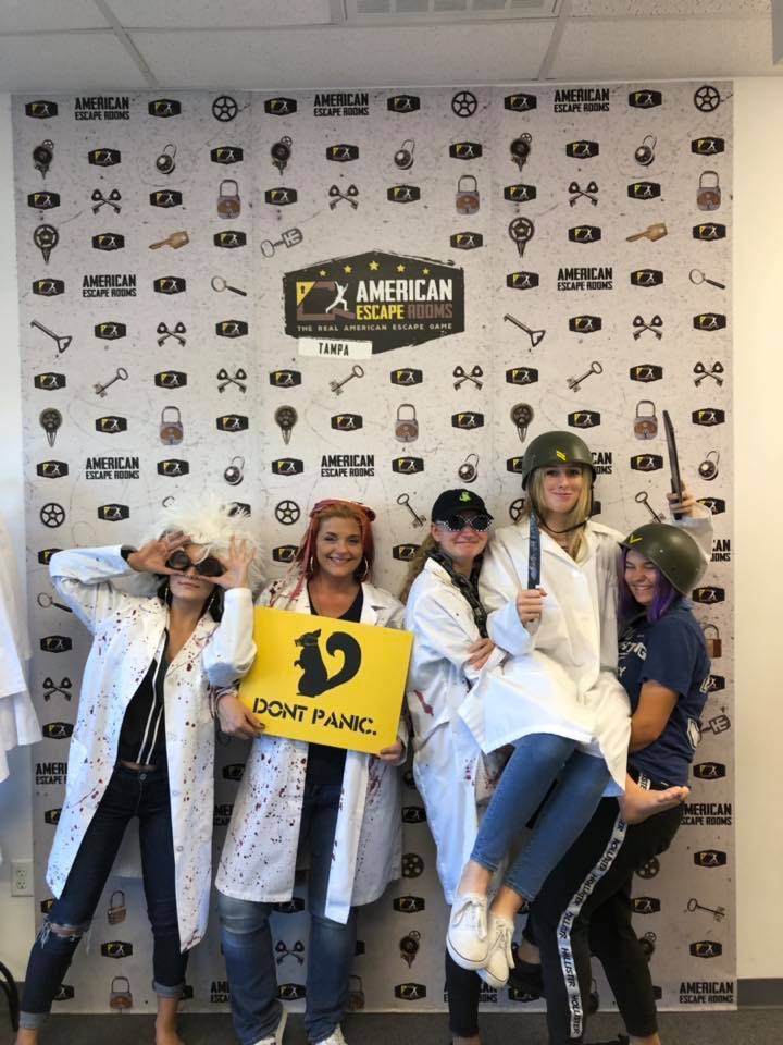 Team Rugrats played the Zombie Apocalypse - Tampa and finished the game with 8 minutes 44 seconds left. Congratulations! Well done!