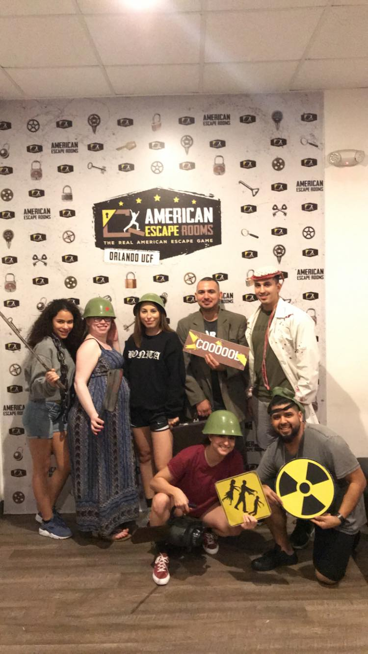 Team Soul Survivors played the Zombie Apocalypse - Orlando and finished the game with 13 minutes 5 seconds left. Congratulations! Well done!