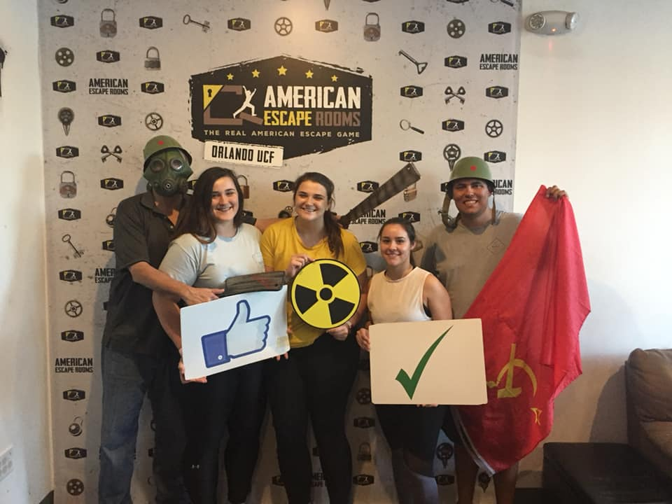 Team Bette played the Cold War Crisis - Orlando and finished the game with 10 minutes 11 seconds left. Congratulations! Well done!