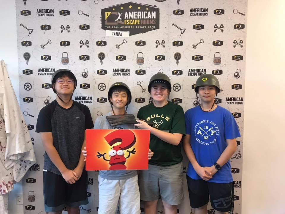 Team Winners played the Zombie Apocalypse - Tampa and finished the game with 5 minutes 39 seconds left. Congratulations! Well done!