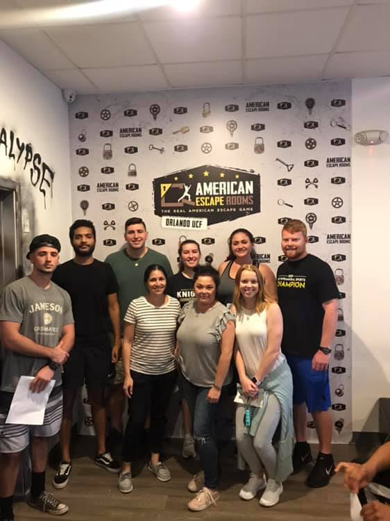 Team UCF Escape played the Mad Professor's Asylum - Orlando and finished the game with 12 minutes 36 seconds left. Congratulations! Well done!