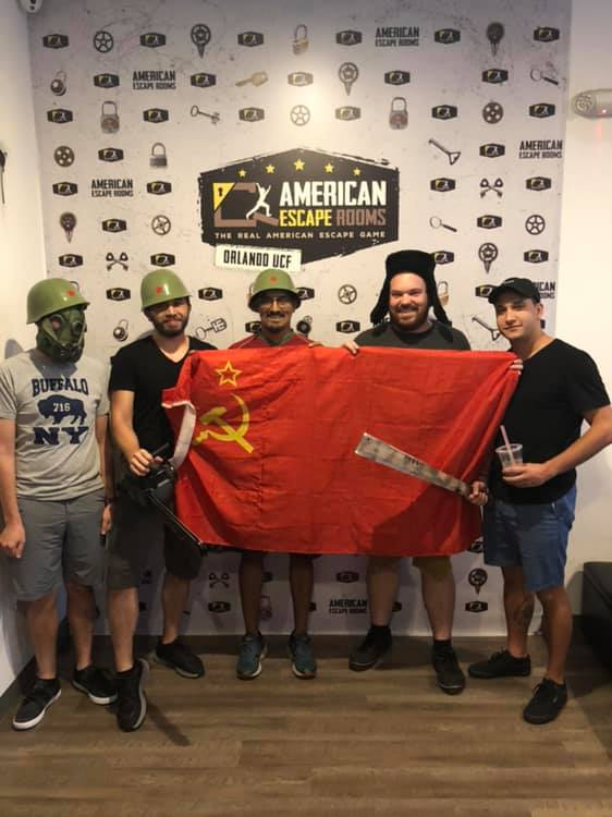 Team Haugh played the Cold War Crisis - Orlando and finished the game with 3 minutes 46 seconds left. Congratulations! Well done!