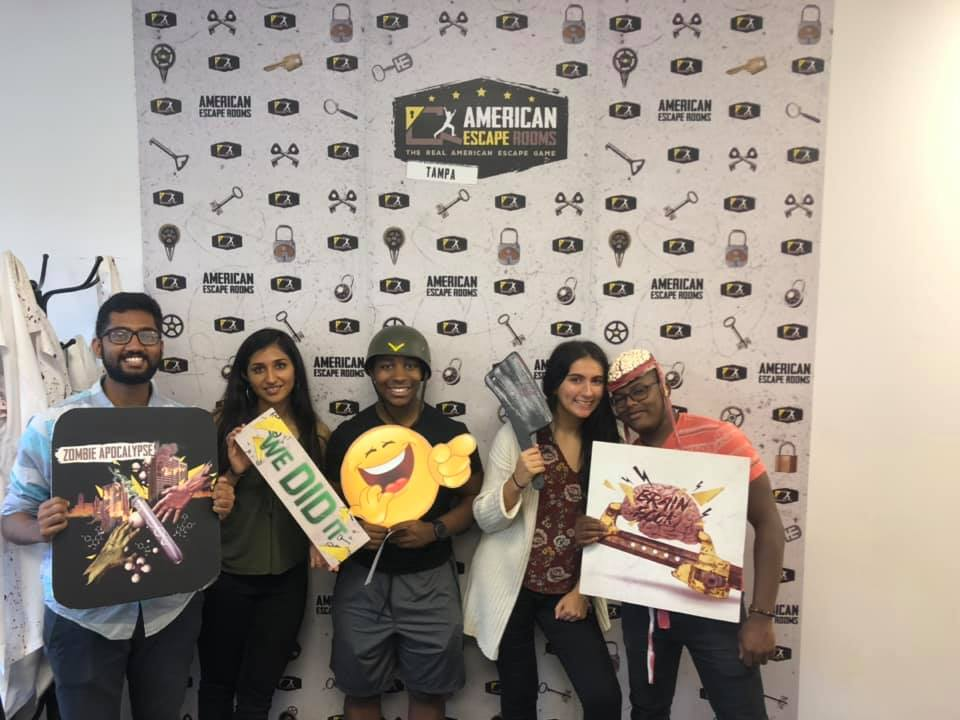 Team GWP played the Zombie Apocalypse - Tampa and finished the game with 6 minutes 13 seconds left. Congratulations! Well done!