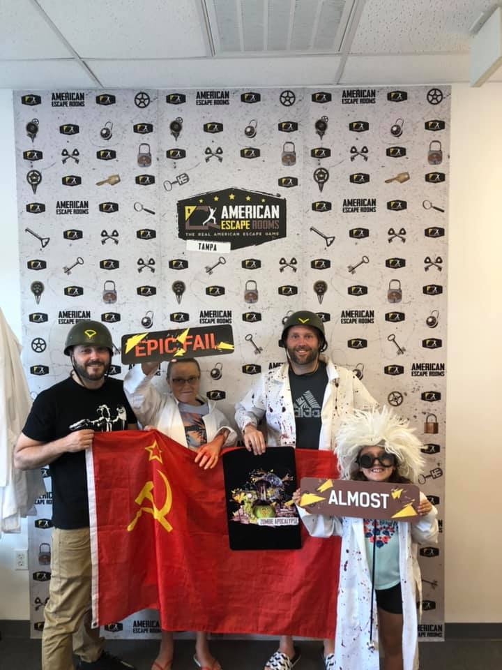 Team Fun! played the Zombie Apocalypse - Tampa and finished the game with 0 minutes 0 seconds left. Congratulations! Well done!