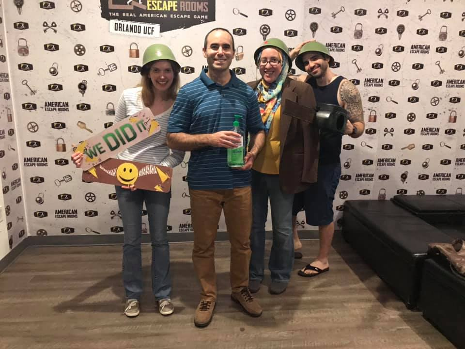 The Crackers played the Cold War Crisis - Orlando and finished the game with 5 minutes 57 seconds left. Congratulations! Well done!