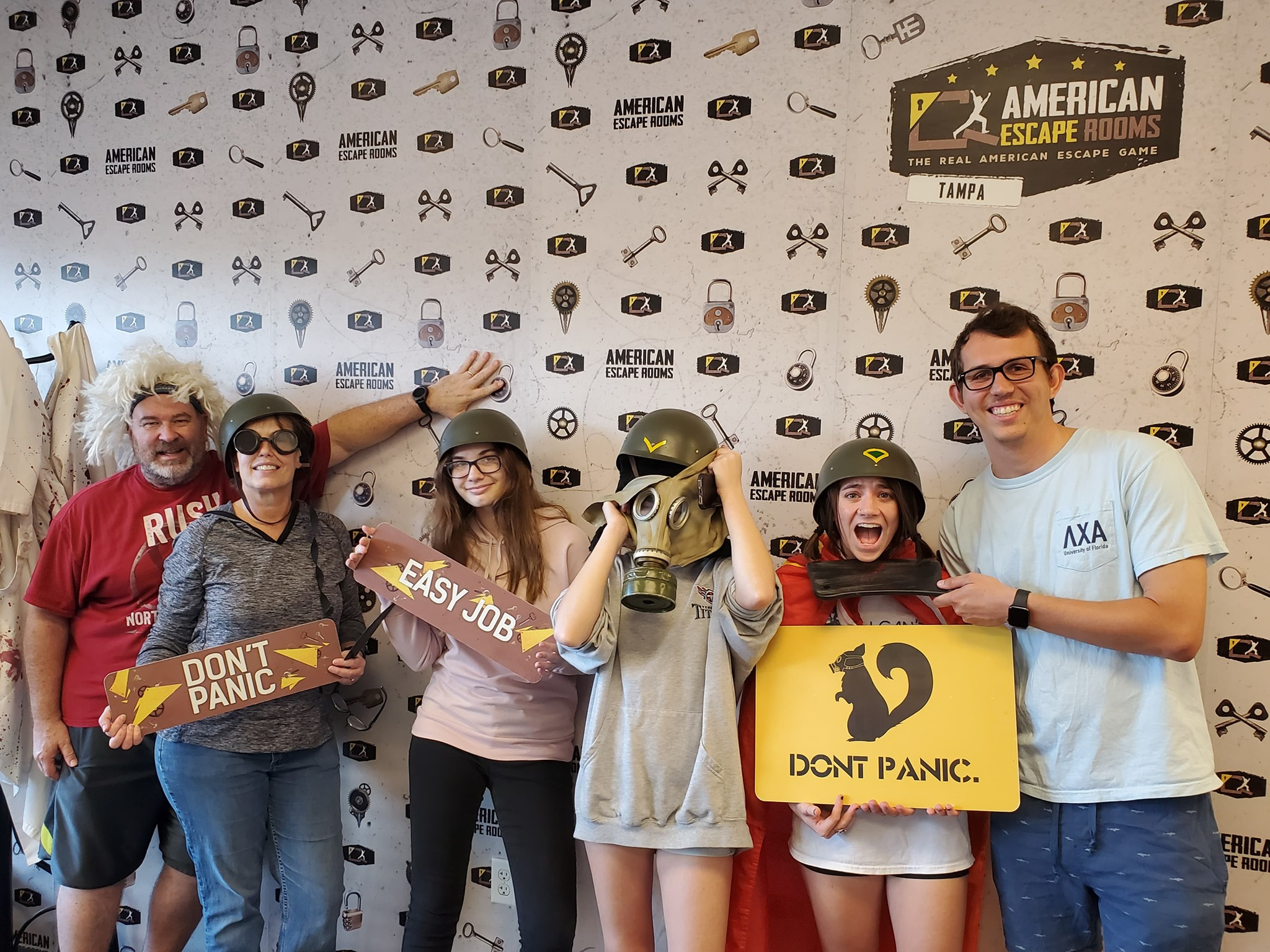 The Crusaders Save The World played the Zombie Apocalypse - Tampa and finished the game with 5 minutes 15 seconds left. Congratulations! Well done!