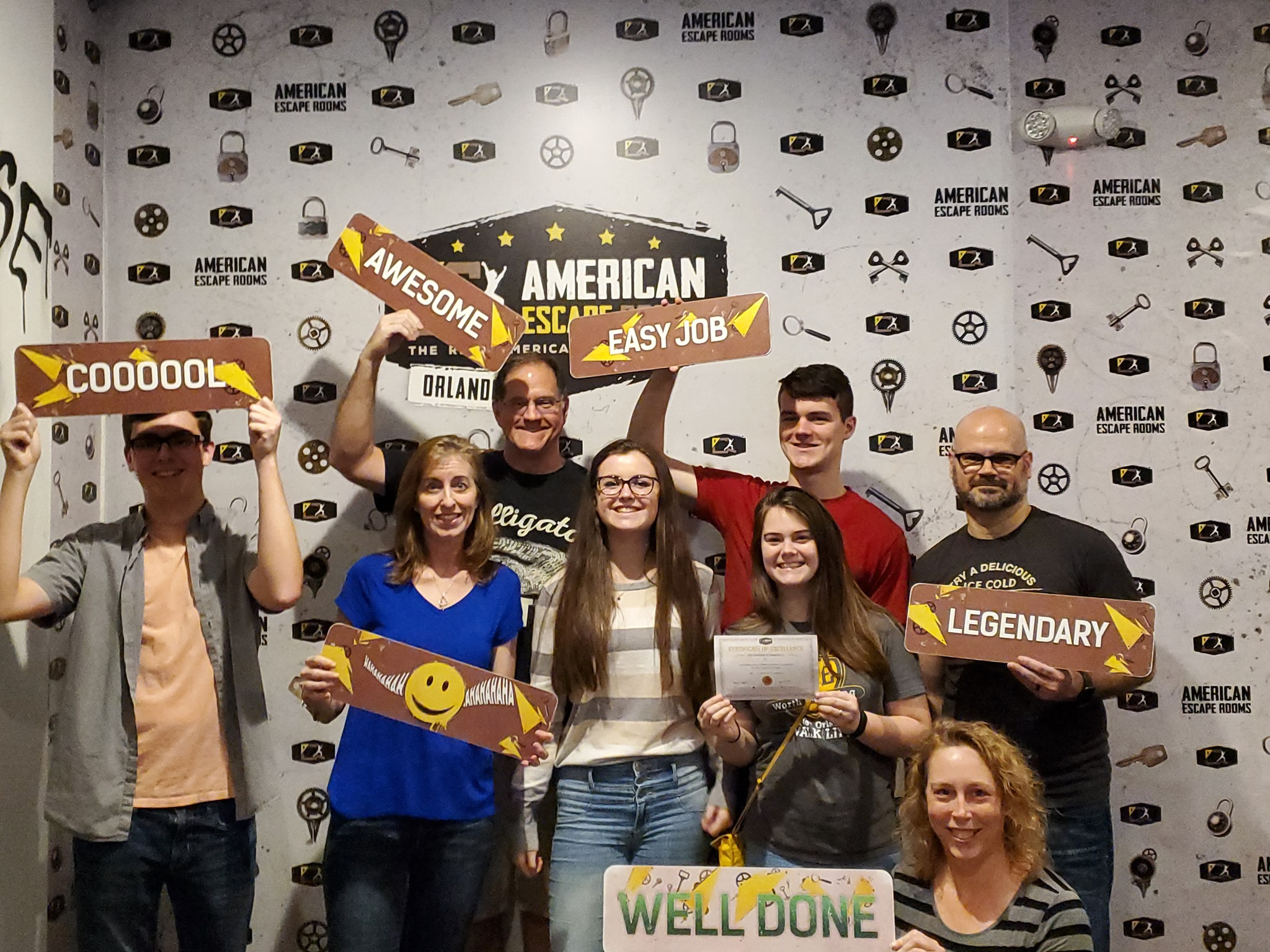 Team T^2 played the Mind-Boggling - Orlando and finished the game with 19 minutes 48 seconds left. Congratulations! Well done!