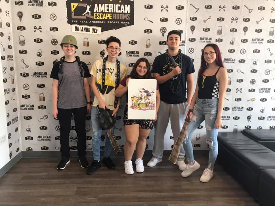 Team Blair played the Mad Professor's Asylum - Orlando and finished the game with 11 minutes 18 seconds left. Congratulations! Well done!